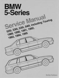 BMW 5-Series E34 Set of PDF Manuals