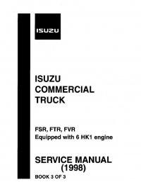 Isuzu Commercial Truck FSR / FTR / FVR 1998 Service Manual