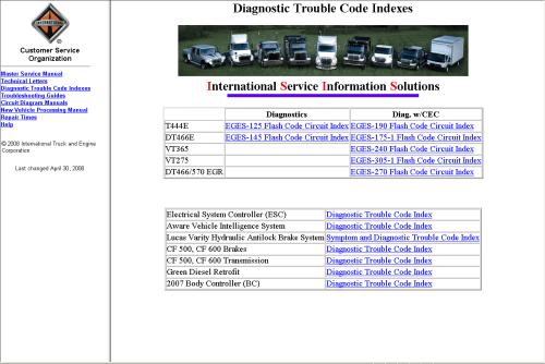small resolution of repair manual international truck isis 2012
