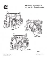 Cummins L10 & M11 Repair Manual PDF Download
