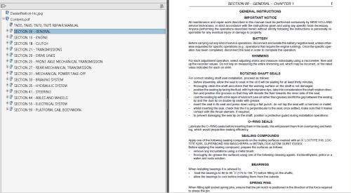 small resolution of repair manual new holland tn55 tn65 tn70 tn75 tractors pdf manual