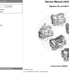 repair manual cummins engine signature isx qsx15 service manual [ 1374 x 843 Pixel ]