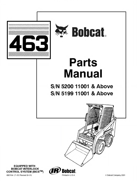 463 Bobcat Skidsteer Wiring Diagram : 35 Wiring Diagram