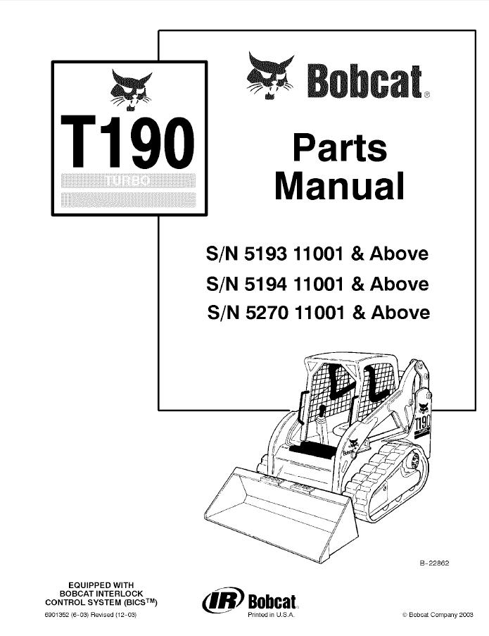 bobcat t190 wiring diagram ac unit thermostat service great installation of parts data rh 16 5 20 reisen fuer meister de