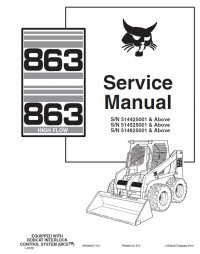 Bobcat 873 Parts Diagram Bobcat Parts Breakdown Wiring