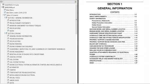 small resolution of repair manual new holland l465 lx465 lx485 skid steer loader pdf manual