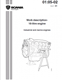 Scania Industrial and Marine Engines DC16 Set of PDF Manuals