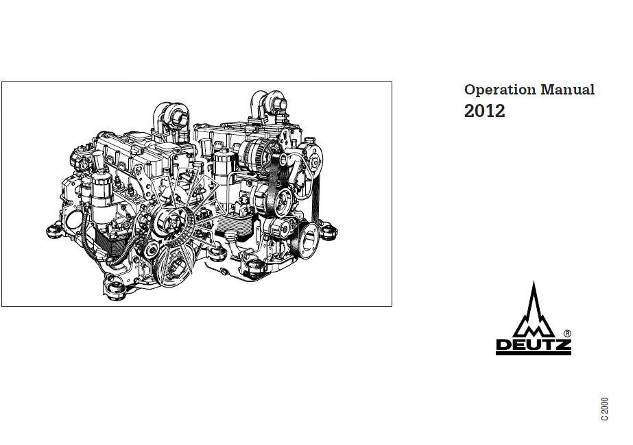 Download Deutz Diesel Engines 2012 Operation Manual PDF