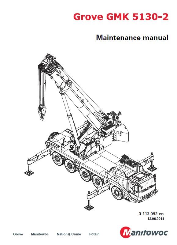 Download Grove Truck Crane GMK 5130-2 Maintenance PDF