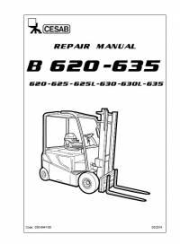 Download Cesab Forklift B620 B625/L B630/L B635 Repair PDF