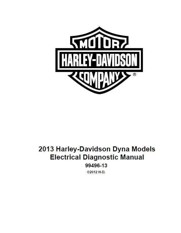 Harley Davidson Dyna 2013 Diagnostic Service Manual PDF