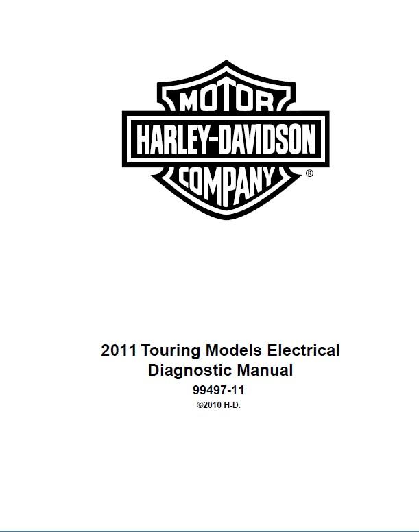 Download Harley Davidson Touring Models 2011 PDF Manuals