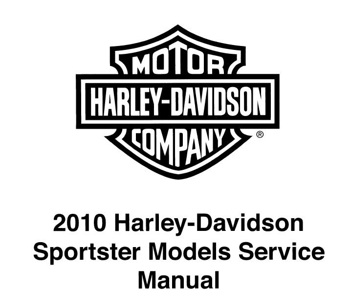 Download Harley Davidson Sportster 2010 Service Manual