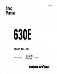 Komatsu Dump Truck 630E Shop Manual PDF Download