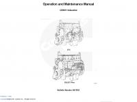 Cummins Engine QSM11 Industrial Operation Manual