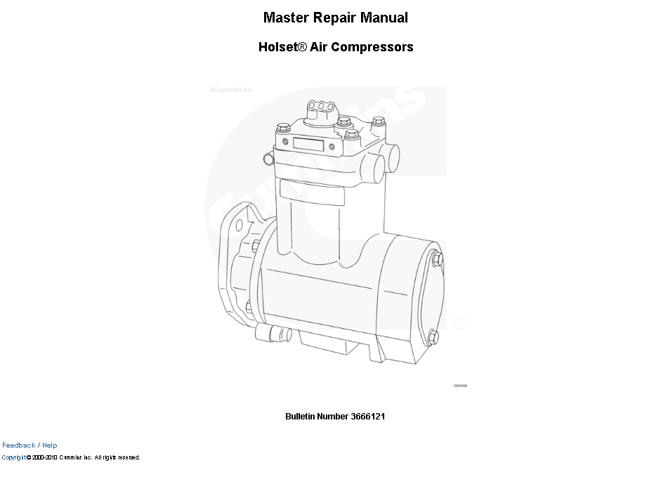 Cummins Repair Manual Free Download
