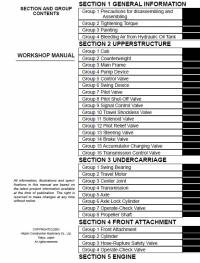 Hitachi Wheeled Excavator Zaxis 210W Workshop Manual pdf