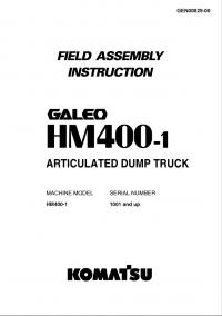 Komatsu Articulated Dump Truck HM400-1 Instruction PDF