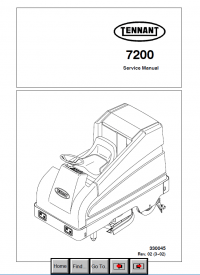 Tennant 7200 Scrubber Service Manual PDF