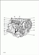 Deutz Engine BFM 1012-1013