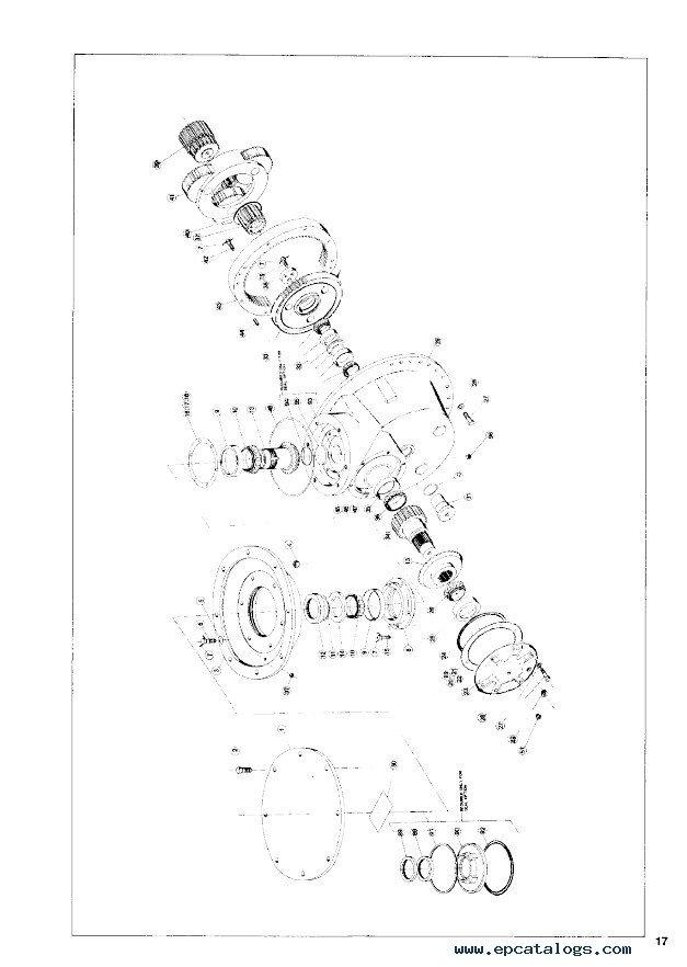 John Deere P200 Planetary Service & Parts Assembly Manual