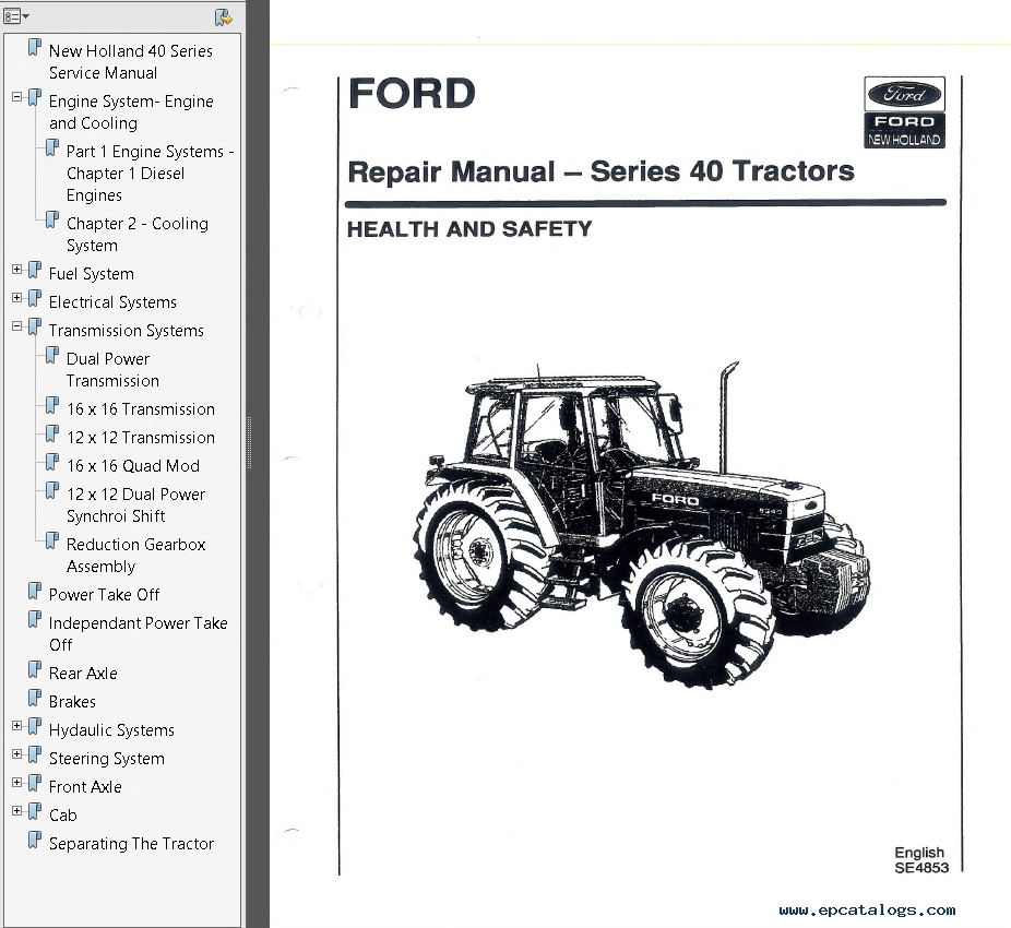 hight resolution of ford 7840 wiring diagram wiring library time warner wiring diagrams repair manual new holland ford 5640