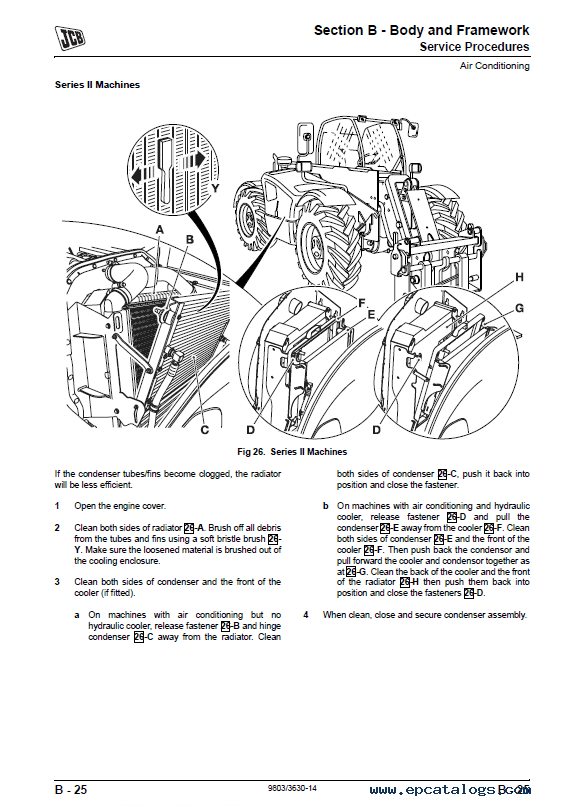 Download JCB Side Engine Loadalls Service Manual PDF