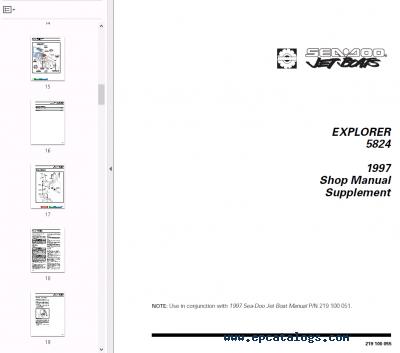 Bestseller: 2012 Seadoo Manuals