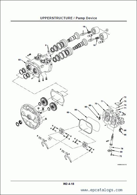Hitachi Service Manual ZX-210W-3, ZX-220W-3 (ZAXIS