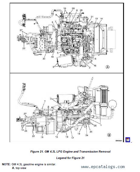 YALE Truck D879 (GC/GLC/GDC135VX/155VX) PDF Manuals