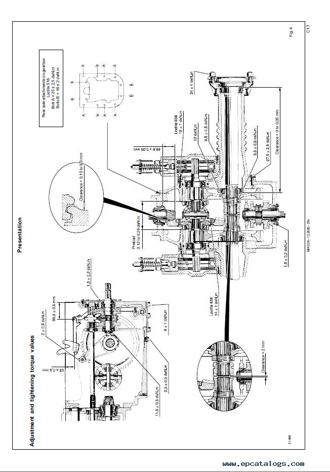 John Deere 3210 3310 3410 3210X 3310X 3410X Tractors PDF