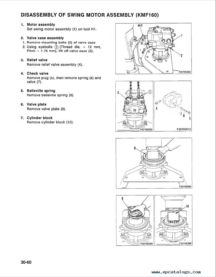 Komatsu PC300LC-5, PC400LC-5 Excavator Shop Manual