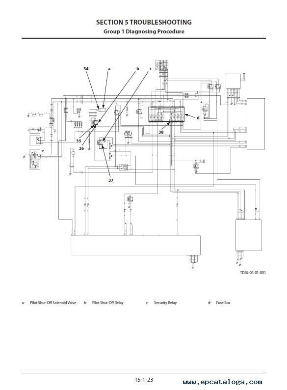 Hitachi ZX330(LC)H-5A, ZX350(LC)K-5A Troubleshooting PDF