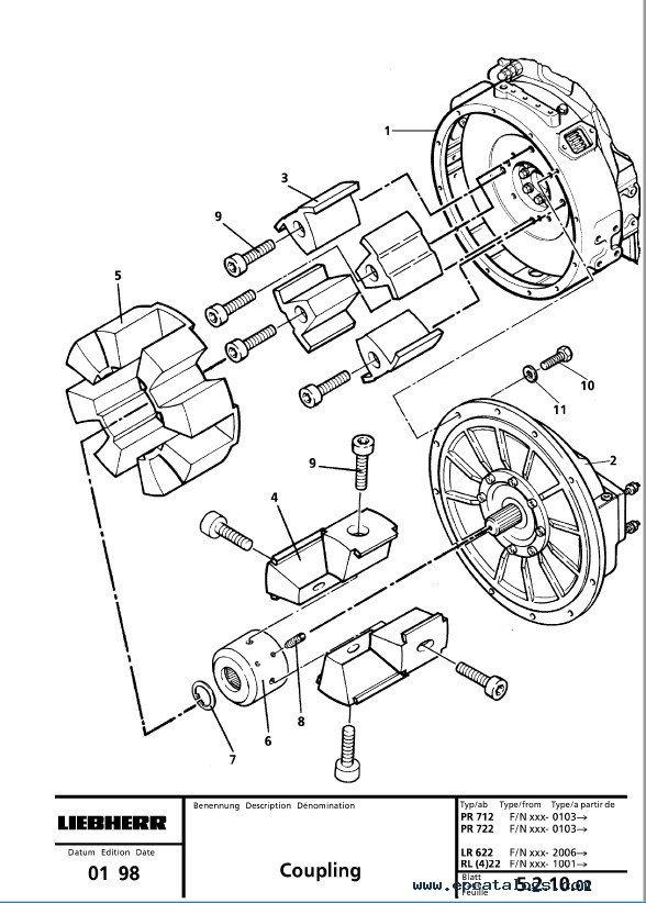 Liebherr 622-632 Crawler Loaders Series 2 Litronic SM PDF