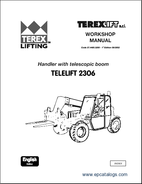 Terex Lifts parts catalogues and Terex Lifts workshop manuals
