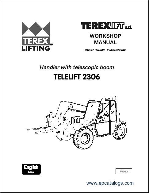 Terex Lifts parts catalogues and Terex Lifts workshop manuals