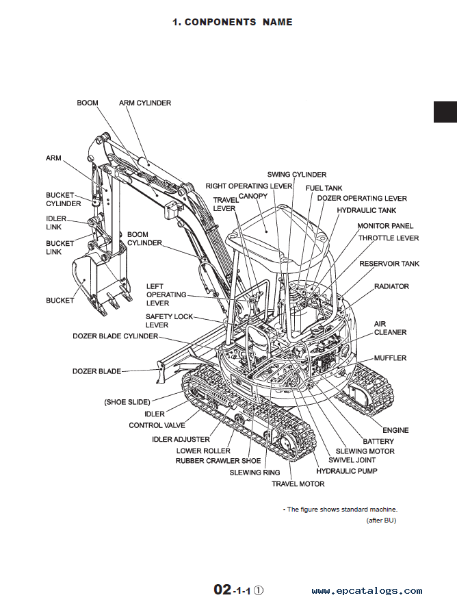 New Holland Compact Excavator EH35 PDF Service Manual