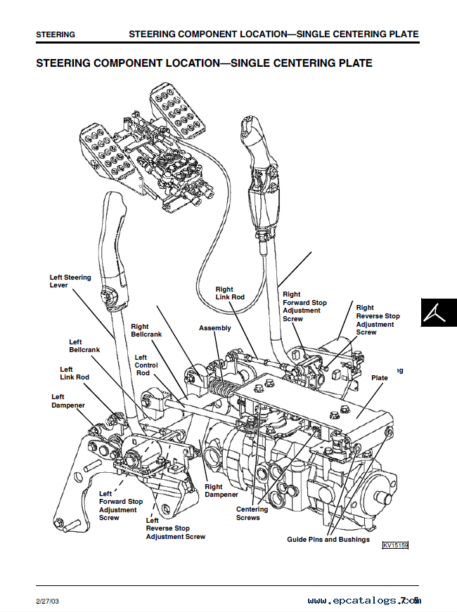 john deere 250 skid steer alternator wiring diagram 1988 toyota pickup headlight 240 loaders tm1747 pdf manual