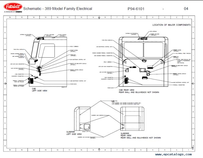 Peterbilt 389 Dash Wiring Diagram. Kenworth W900 Wiring Diagram ...