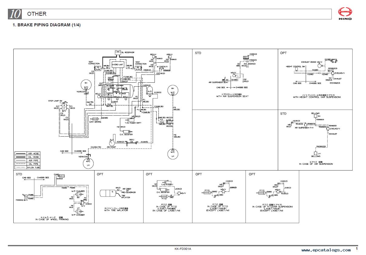 Hino Headlight Wiring Diagram Circuit Connection Diagram