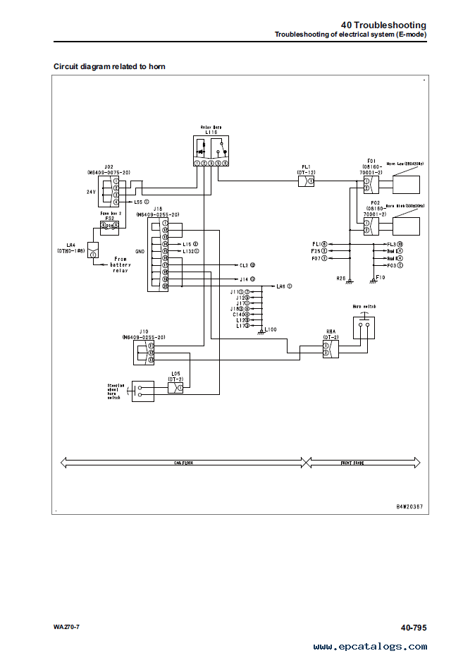 Engine Cooling System Diagram
