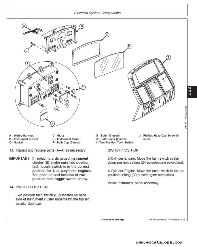 John Deere 5320 Fuse Box Diagram John Deere 5220 5320 5420 5520 Tractor Repair Manual Pdf