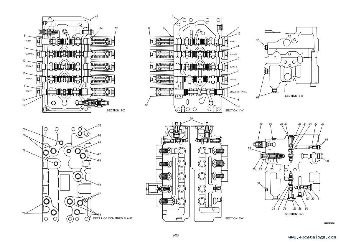 Hyundai R800LC-7A Crawler Excavator Repair Manual PDF Download