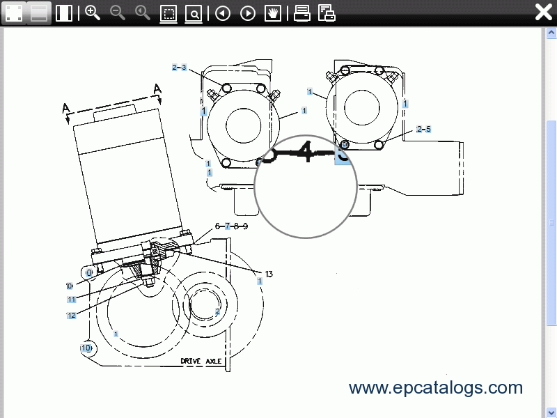 Mitsubishi ForkLift Trucks 2011 EPC Spare Part Book
