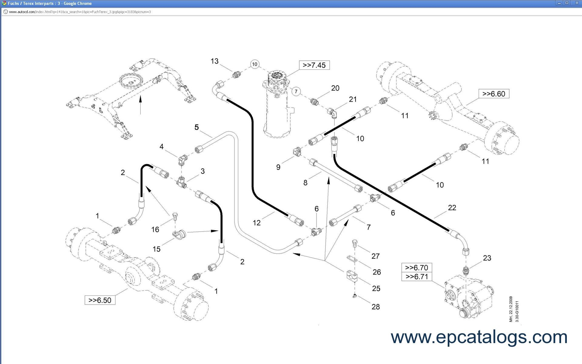 Fuchs Terex Spare Parts Catalog Download