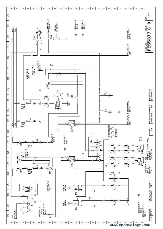 John Deere Forwarder 1910E Schematics Manual F076075