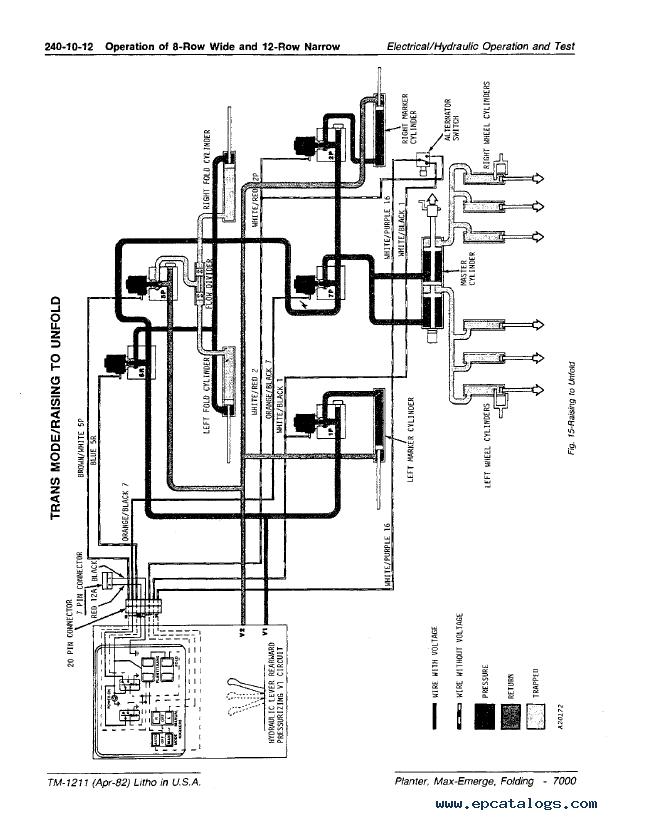 John Deere 7000 Planter Wiring Diagram John Deere Light