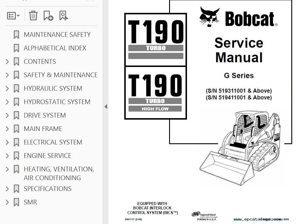 Varanasi To Gaya Volvo Bus Service: Bobcat T650 Service Manual