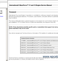 international truck isis repair manual buy international truck isis 2012 repair manual international 9900i wiring  [ 1256 x 851 Pixel ]