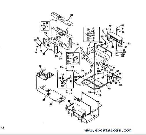 Yale Trucks D807 (ERP 16-18-20 ATF) PDF Parts Information